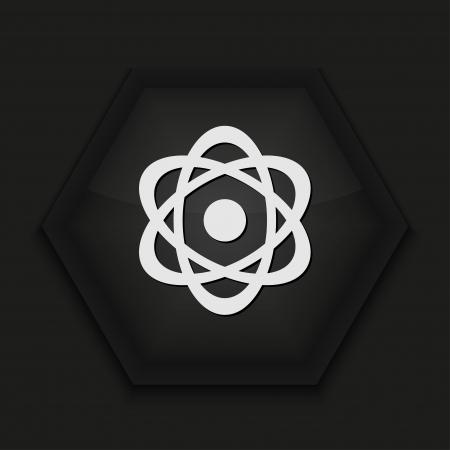 Vector creative icon on black background. Eps10 Stock Vector - 17274586