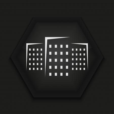 Vector creative icon on black background. Eps10 Stock Vector - 17274588