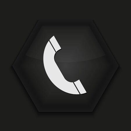Vector creative icon on black background. Eps10 Stock Vector - 17273396