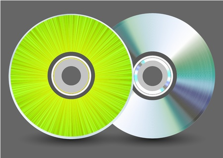 blu ray: disk on gray background.
