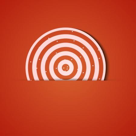 background. Orange icon applique. Stock Vector - 18073990