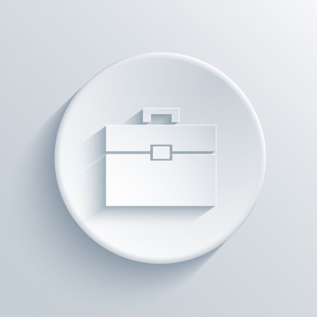 light circle icon. Vector
