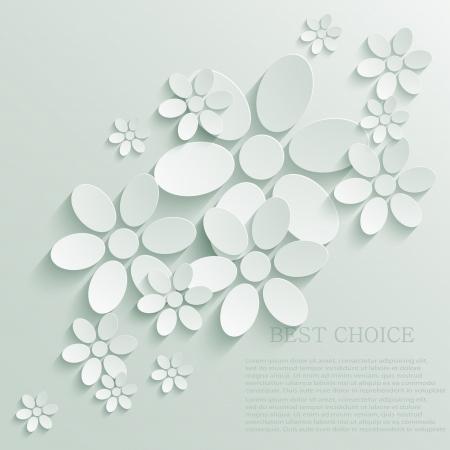 flores de cumplea�os: Flor de fondo.
