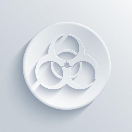 light circle icon.  Illustration