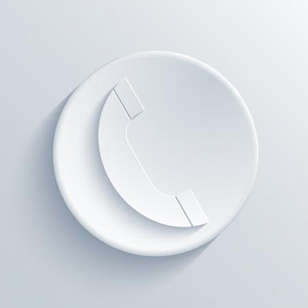 light circle icon.  Stock Vector - 18666726