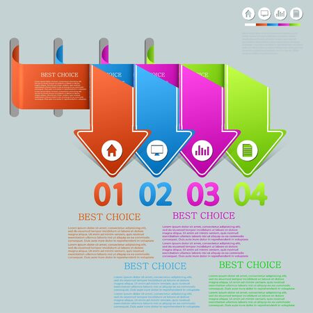 Vector infographic design. Eps10 Vector