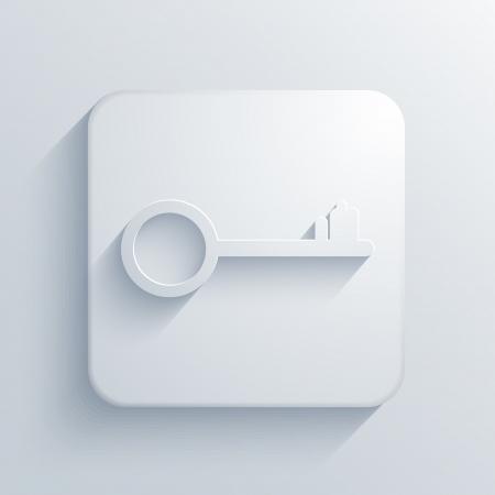 Vector light square icon. Eps10 Stock Vector - 19280795