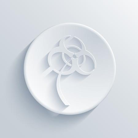 Vector light circle icon. Eps10 Stock Vector - 19280926