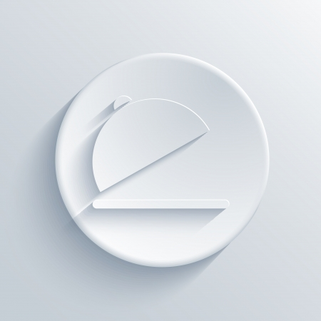 Vector light circle icon. Eps10 Vector
