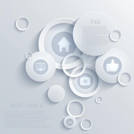 infographic achtergrond ontwerp.