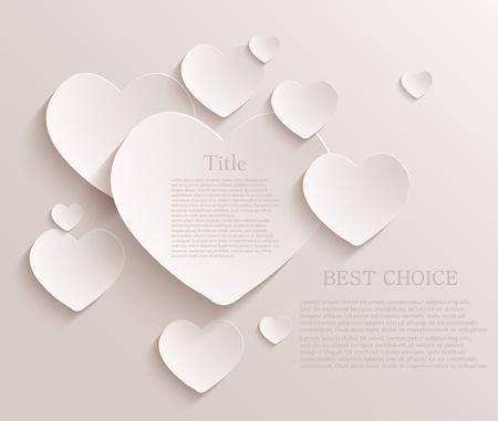 wedding heart: heart background.