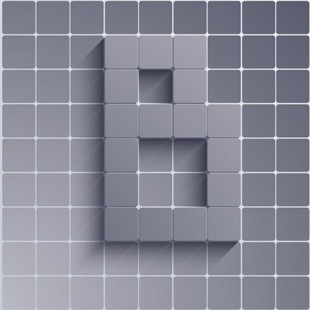 abstract alphabet. Stock Vector - 20574780