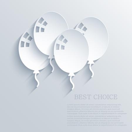 ballon: balloons background.