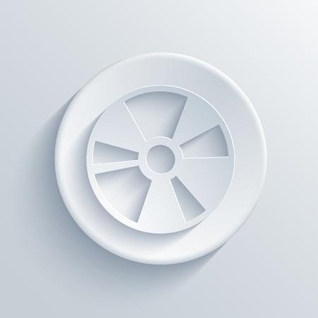 blueray: light circle icon.