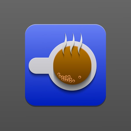 coffee icon.  Vector