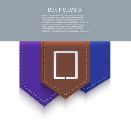 bookmark icon. Stock Vector - 20574652