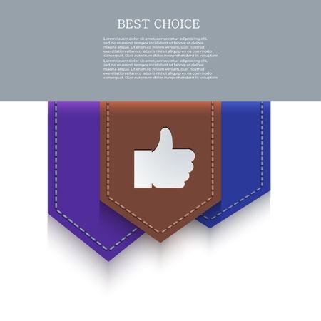 bookmark icon. Stock Vector - 20574608