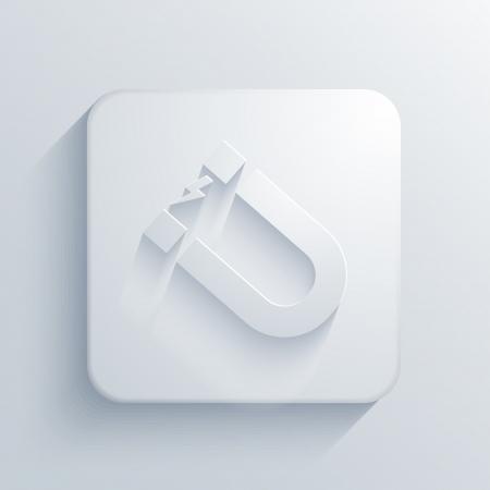 light square icon.  Vector
