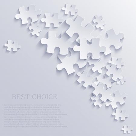 Puzzle-Hintergrund. Standard-Bild - 20574609
