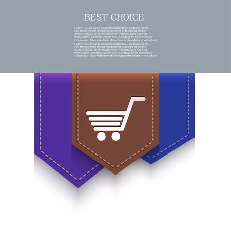 bookmark icon. Stock Vector - 20574678