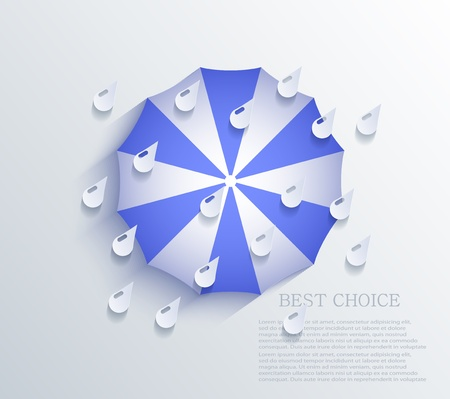 creative umbrella background. Stock Vector - 20574617