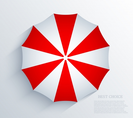 creative umbrella background. Stock Vector - 20574579