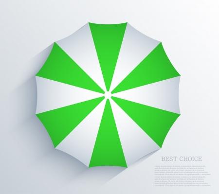 creative umbrella background. Stock Vector - 20574587