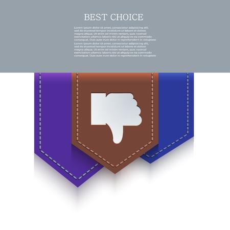 valuation: bookmark icon.
