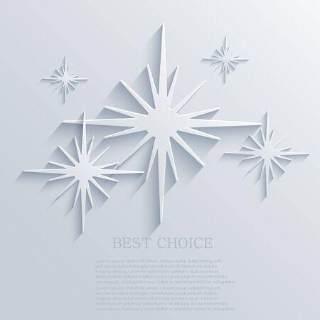 Vector star background design.  Stock Vector - 21377532