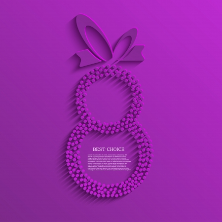 womens day: Vector womens day background. Eps10 Illustration