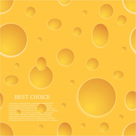 Vector seamless cheese background. Eps10 Vector