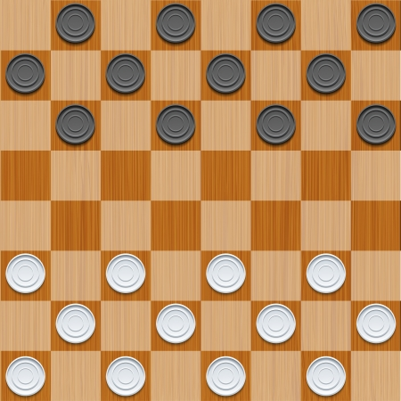 chess board: Vector checker background. Eps10