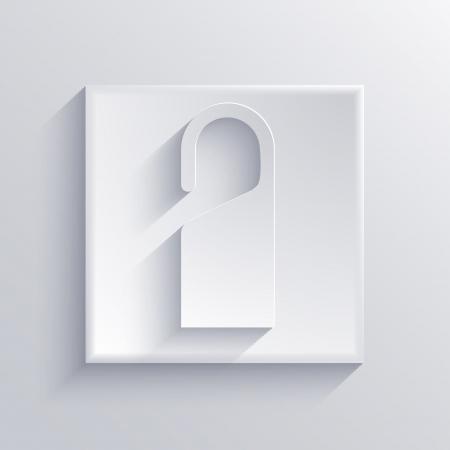 Vector light square icon. Eps 10 Stock Vector - 22452569