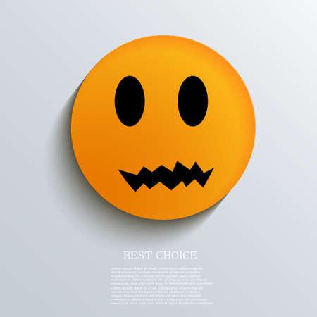 Vector halloween background. Eps10 Vector