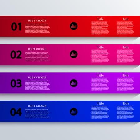 Vector infographic design. Eps10 Vector