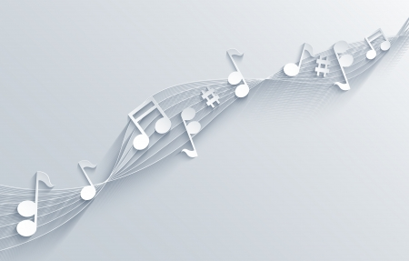 style sheet: Vector music background. Eps10 Illustration