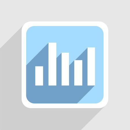 Vector blaue Symbol auf grauem Hintergrund. Eps10