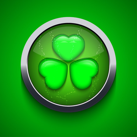 Vector St. Patricks Day background.   Vector