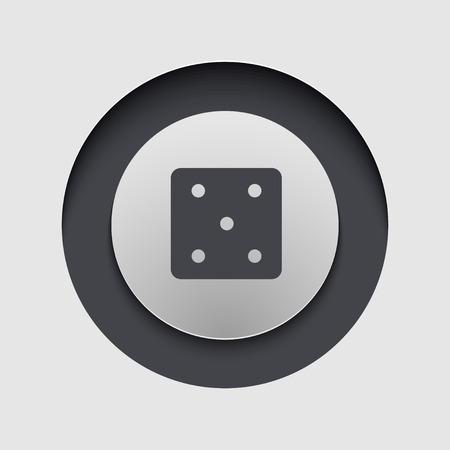 Vector modern circle icon. Eps 10 illustration Vector