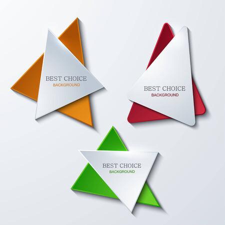moder: Vector moder banners element design. Modern background. Illustration