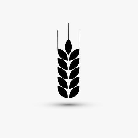 Vector black web icon on white background  Eps10