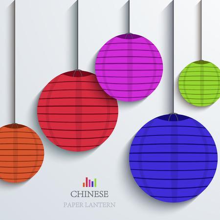 papierlaterne: moderne chinesische Papierlaterne Hintergrund