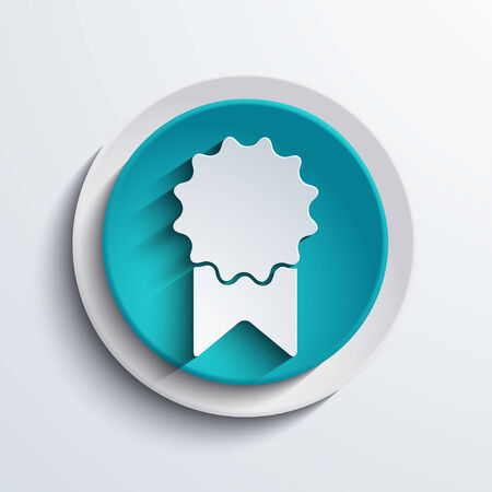 web element: vector modern blue circle icon  Web element