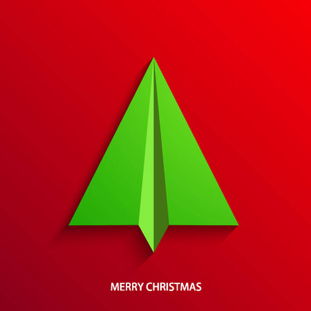 vector concept christmas tree Vector