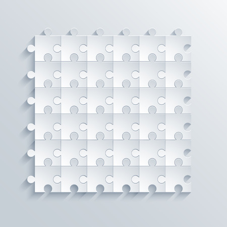 guidelines: vector modern puzzle background Illustration