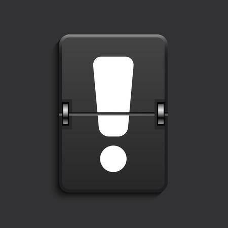vector modern scoreboard black icon. Eps 10 Vector