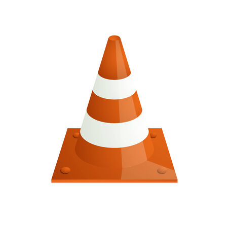 traffic   cones: Vector modern traffic cones