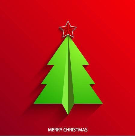 vector concept christmas tree Vector