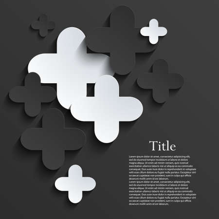 pus: modern pus or cross background template