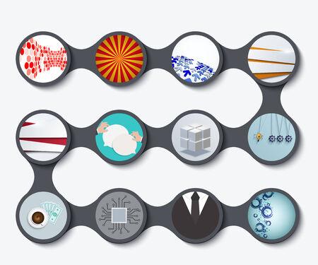 business backgrounds: serie moderna di ambienti business progettazione